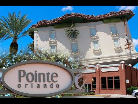 Uma visita ao complexo Pointe Orlando.