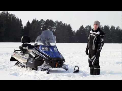 Тест снегохода Arctic Cat BearCat 570 xt