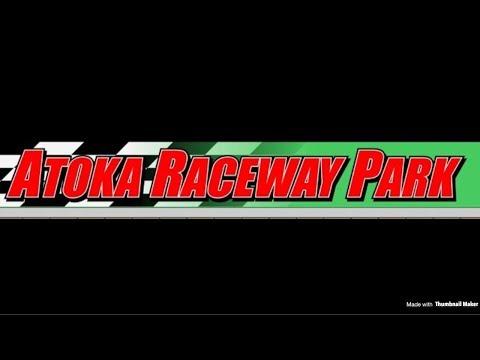 Dirt go kart racing feature on go pro at atoka raceway park