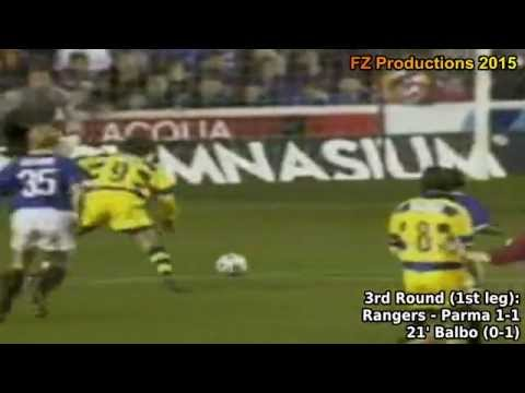1998-1999 Uefa Cup: Parma AC All Goals (Road to Victory)