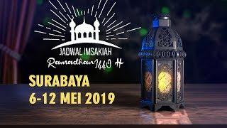 Gambar cover Jadwal Imsakiah Surabaya 6-12 Mei 2019