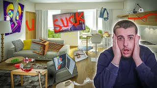I RUINED my Best Friend's New House!!