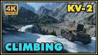 World of Tanks | Climbing - KV-2 - 9 Kills - 3,1K Damage - 1 VS 5 Gameplay