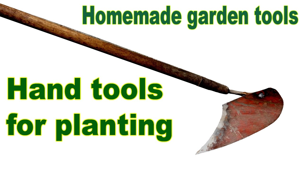 Hand tools for planting youtube for Hand tools for planting