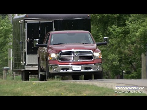 Towing with the 2016 Ram 1500 EcoDiesel - YouTube