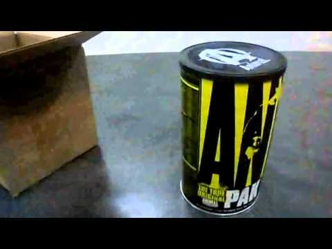 Unboxing   Health Designs   Suplemento Animal Pak 44   BRTactical