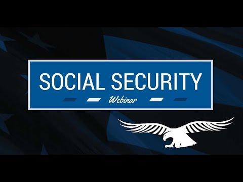 2016 Social Security Webinar