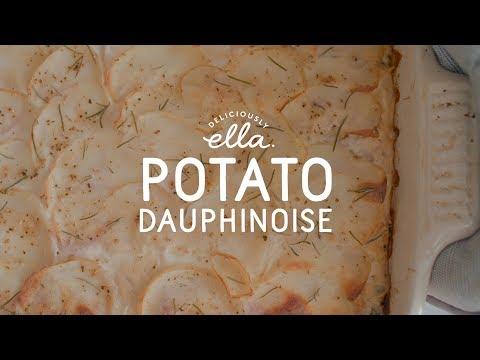 Vegan Potato Dauphinois | Deliciously Ella