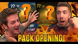 STATISTICAMENTE IMPOSSIBILE! TOTS & IF!!! 1 VS 1 PACK OPENING - FIFA15