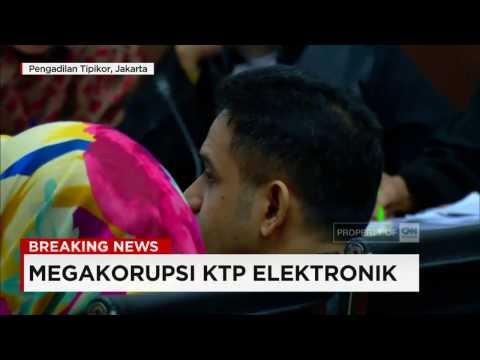 Nazaruddin Sebut Nama-nama Anggota DPR yang Terima Aliran Dana e-KTP