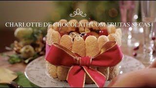 Receita - Charlotte de Chocolate