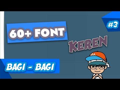 Bagi Bagi 60+ Font Untuk Android