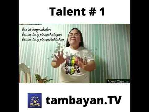 Tambayan TV Got Talent I  Xyra Neña Ria