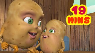 Aloo Kachaloo Beta Kahan Gaye The and much more  Hindi Rhymes collection for kids  Infobells