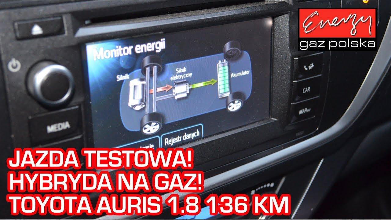 Jazda próbna testowa: Test LPG Toyota Auris 1.8 136KM 2013r w Energy Gaz na auto gaz BRC SQ 32