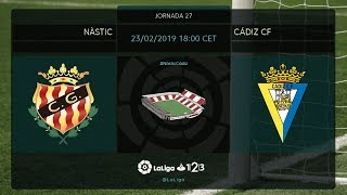 Nástic - Cádiz CF MD27 S1800