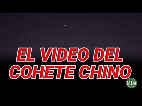 El VIDEO del COHETE CHINO: sostienen que fue filmado en PARAGUAY