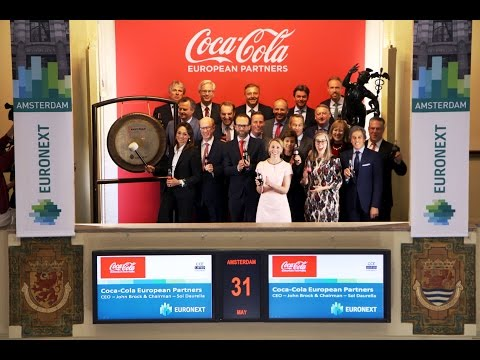 Euronext Amsterdam welcomes Coca-Cola European Partners