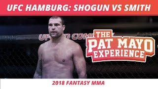 2018 Fantasy MMA: UFC Hamburg - Shogun vs Smith DraftKings Picks & Preview