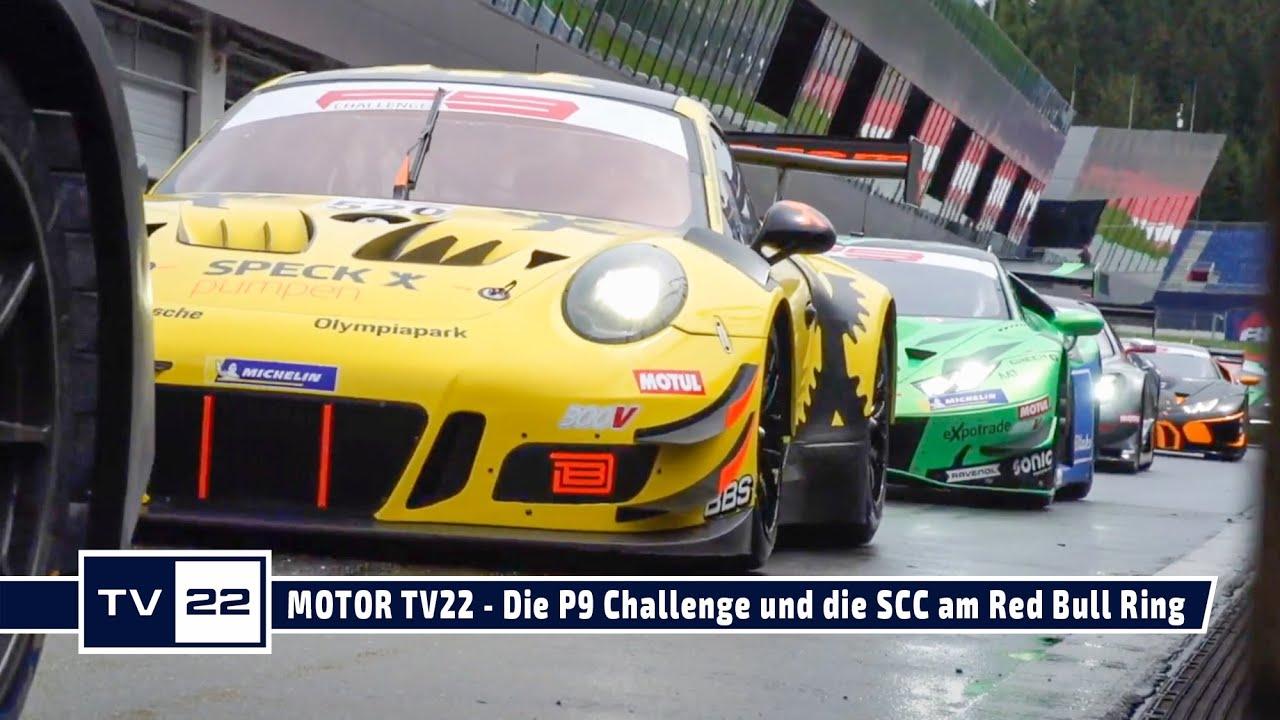 MOTOR TV22: Tourenwagen und Sportwagen am Red Bull Ring - die P9 Challenge und die SCC geben Gas!