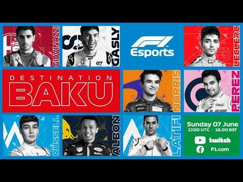 F1 Virtual Azerbaijan Grand Prix LIVE!