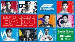 F1 Virtual Baku Grand Prix LIVE!