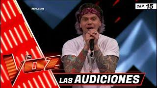 Audiciones a Ciegas: Kike Jiménez 'Take me to church' | Programa 15 | La Voz México