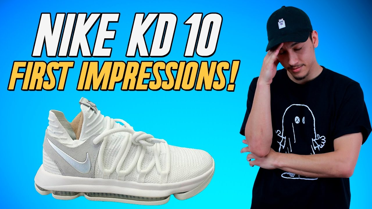86d1482ae3bf Nike KD 10 LEAK! Initial Thoughts   Impressions! - YouTube