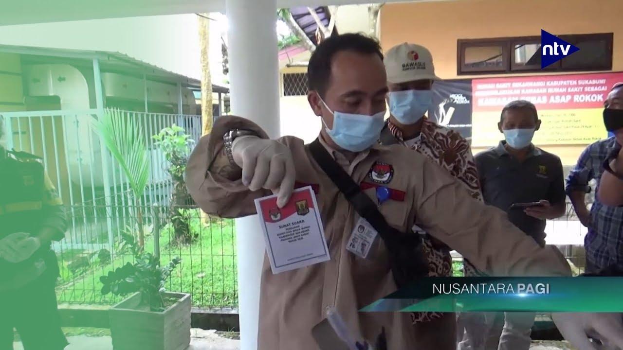 Calon Bupati Sukabumi TerpaksaNyoblos di Ruang Isolasi RSUD Sekarwangi
