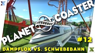 Dampflok vs.Schwebebahn - Directix Wonderworld   PLANET COASTER   let's play gameplay(Lets Play#12) screenshot 5