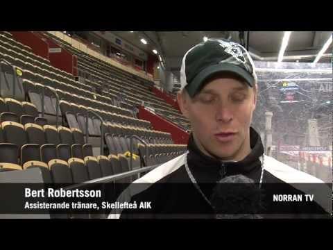Bert Robertsson är finalens profil