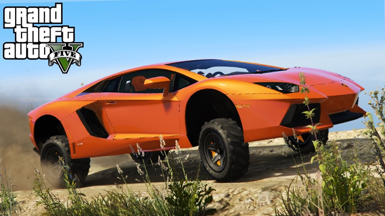Lifting A Lamborghini Aventador 4x4 Off Roading Lift Kit Install Mudding Gta 5 Pc Mods