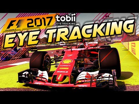 PLAYING F1 2017 WITH EYE TRACKING! - Tobii Eye Tracker 4C