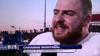 ALEXANDRE LAGANIÈRE Coupe Dunsmore 2014