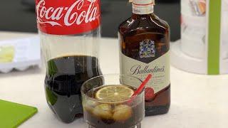 Виски Кола подробный рецепт Коктейль Виски с Колой правильные пропорции . Алкогольные Коктейли