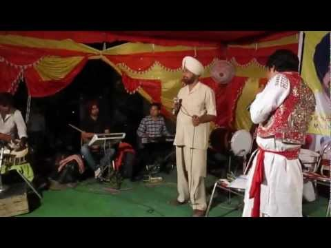 a-live-show-in-shimlapuri-ludhiana-a-song-for-bains-brothers-(m.l.a)-by-harpreet-jaspalon