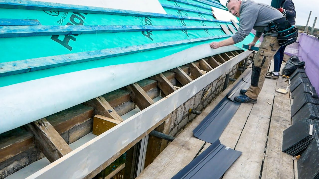 FINISHING THE EAVES - Timber Fascias & Soffits