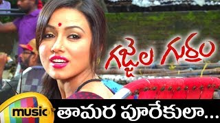 Gajjala Gurram Movie Songs - Tamara Poorekula Song - Sana Khan, Aravind Akash - Dirty Picture