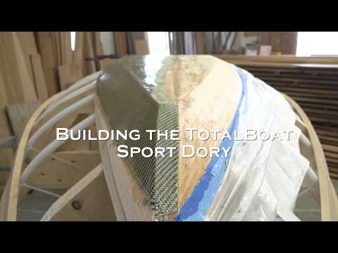 Building the TotalBoat Sport Dory: Episode 20 - Carbon and Kevlar