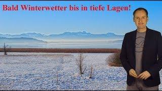 Bald Winterwetter bis in tiefe Lagen möglich! (Mod.: Dominik Jung)