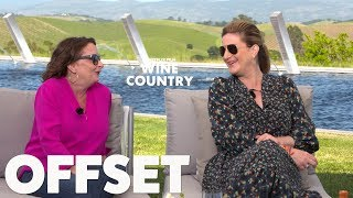 Rachel Dratch and Ana Gasteyer drank A LOT of wine during filming for Wine Country