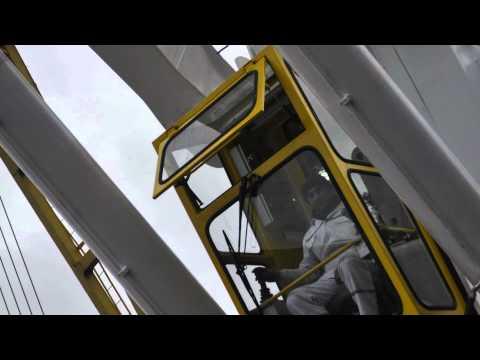 ship cranes, deck cranes