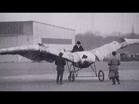 Early Flying Failures Stock Footage - The Film Gate