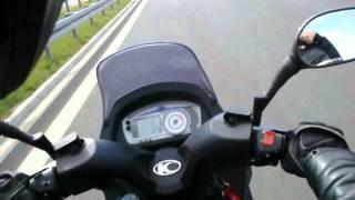 Kymco Dink 200i Fully Loaded Poland Youtube