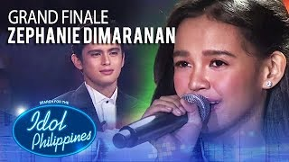 "Zephanie Dimaranan sings ""Pangarap Kong Pangarap Mo"" 