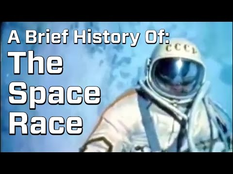 From Sputnik To The Moon: A Brief History Of The US-USSR Space Race