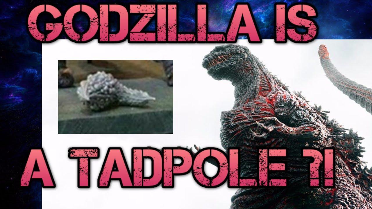 Tadpole to be Shin Godzilla's second form? Maybe - YouTube