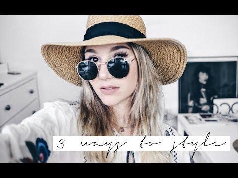 3 WAYS TO STYLE: Hüte // CXC ❥