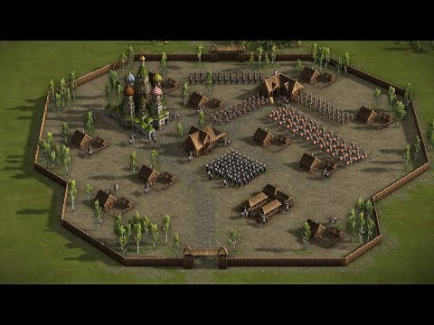 Cossacks 3 - Mission 1 REPEALING THE TATAR RAID | In Distress and Cold, on the Tsar's employ