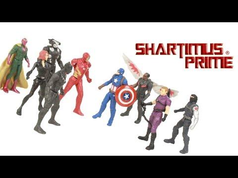 "Marvel Miniverse MARVEL/'S VISION 2.5/"" Figure Captain America Civil War Target"